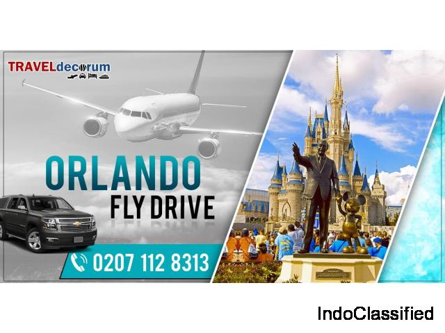 Jaw dropping cheap fly drive to Orlando at TravelDecorum, Call 0207-112-8313