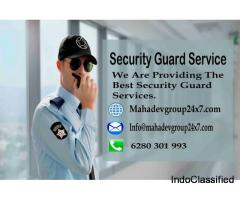 We are Mahadev group providing security guard service
