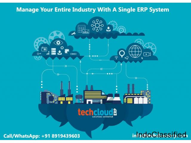Cloud Based ERP Software in India | Tech Cloud ERP