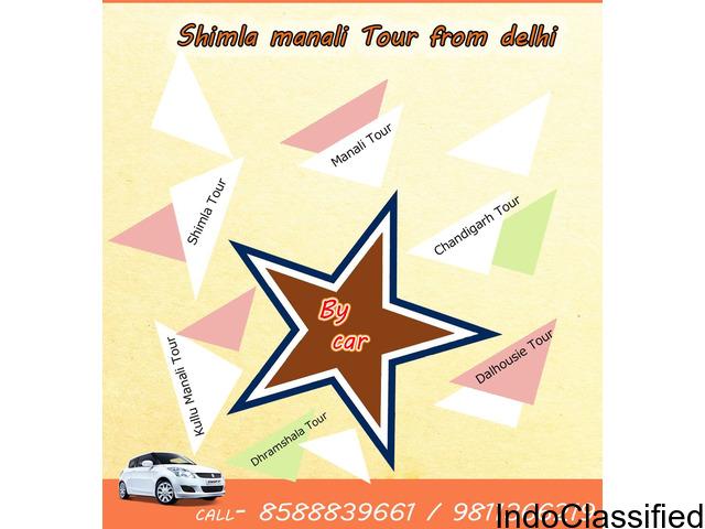 Shimla Manali Chandigarh Trip | Shimla Trip 2 Night 3 Days from Delhi