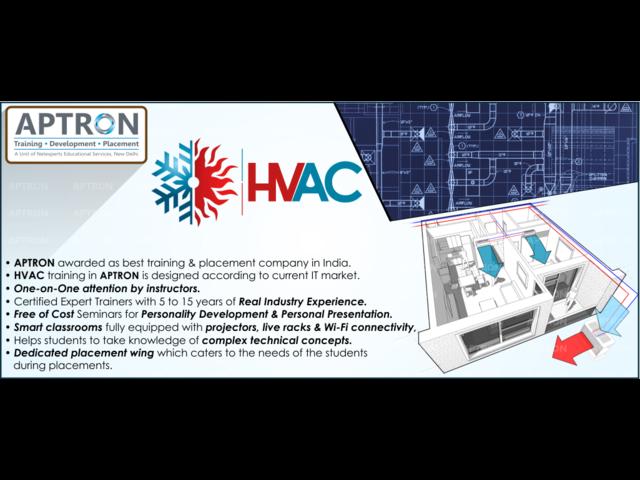 Live Project Based HVAC Training in Noida – Aptron Noida