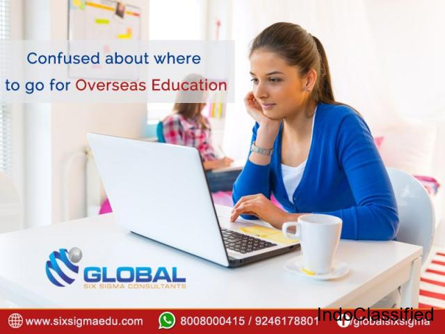 THE FINEST OVERSEAS EDUCATION CONSULTANTS IN HYDERABAD | Global Six Sigma