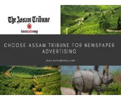 Release Ads in Assam Tribune Newspaper at Best Rates