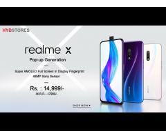 Buy Realme X smartphone at Hydstores