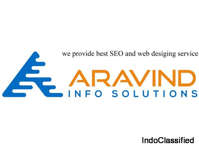we provide best SEO and web desiging service