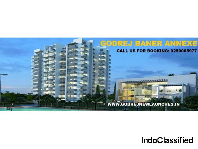 Book 2 & 3 BHK Premium Flats in Pune with Godrej Baner Annexe