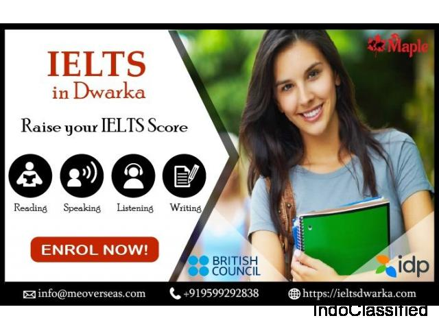 Looking IELTS Coaching in Dwarka