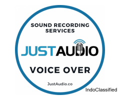 Excellent sound recording, voice over and sound translation services in 60+ languages
