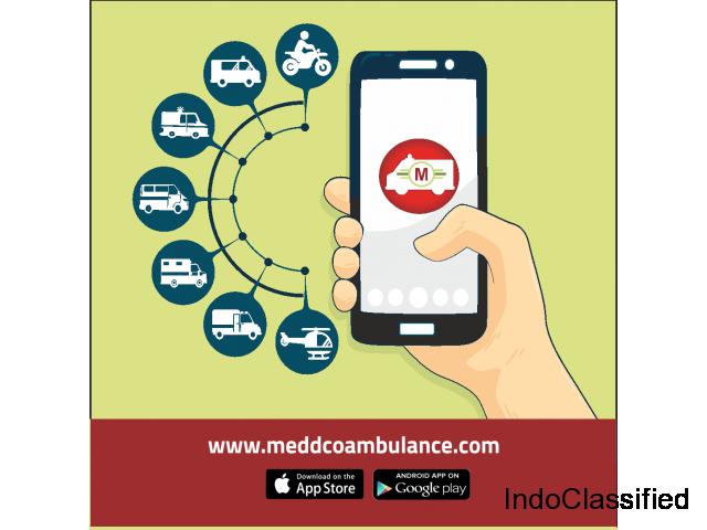 Meddco Ambulance | 24*7 Online Ambulance Booking via Mobile app