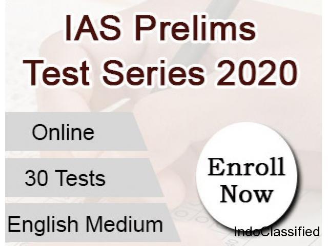 Online IAS Prelims Test Series 2020