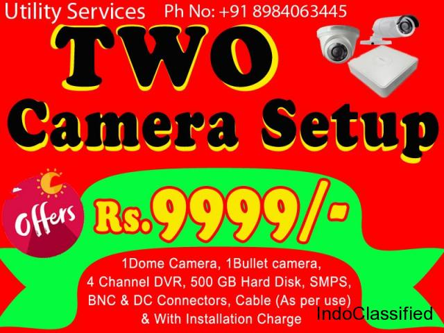 Install CCTV Camera at Your Office