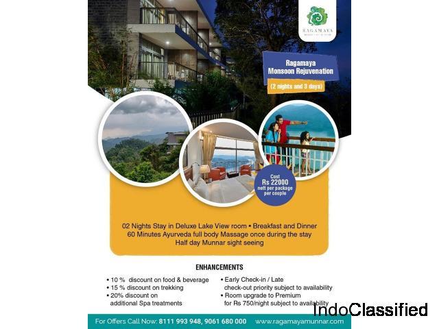 Ragamaya Monsoon Rejuvenation-Best Resort