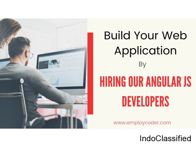 Build your Web Application by Hiring Our Angular JS Developers