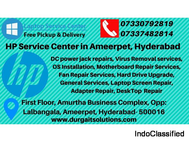 HP Service Center In Ameerpet