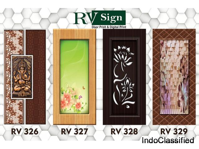 3D Effect Door Paper Print and Decorative Door Skin Papers
