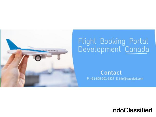 Flight booking portal development Canada| TravelPD