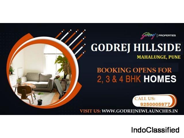 Get Prelaunch Booking offer on Godrej Hillside Mahalunge Apartments