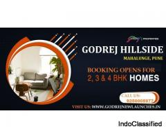 Get Prelaunch Booking offer on Godrej Hillside Mahalunge Apartments