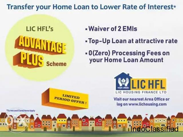 Loan Transfer to LIC Housing finance Ltd make extra benefit