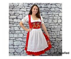 German Dirndl - German Dress , Traditional German Dress , Dirndls for sale