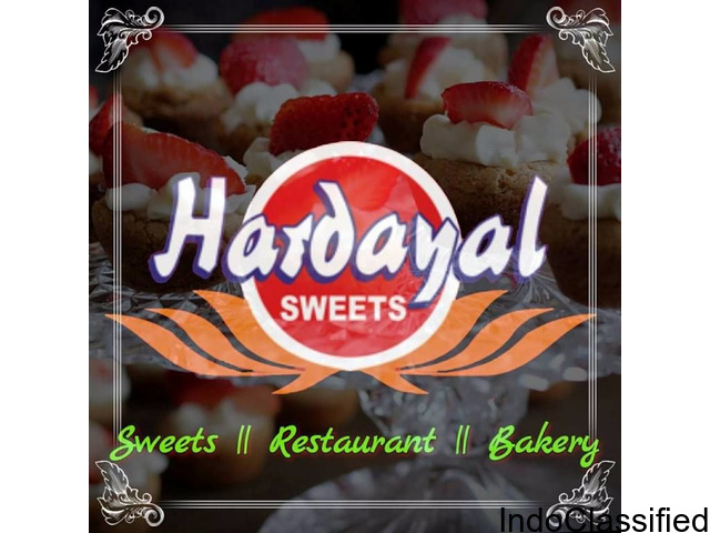 Hardayal Sweets, Bakery, Restaurant in Sitapur.
