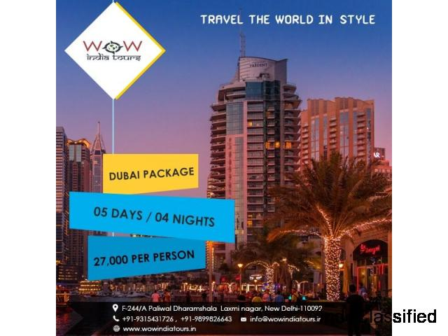 Dubai Tour Packages From Delhi