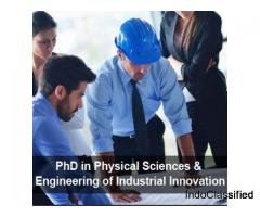 PhD in Physical Sciences and Engineering of Industrial Innovation