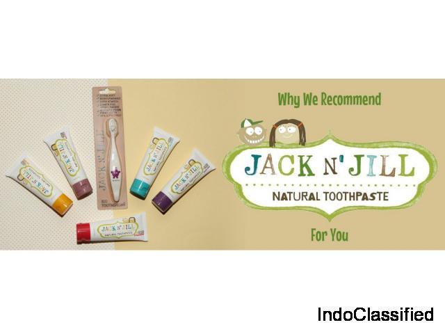 Why Choose Jack N' Jill Over Regular Toothpaste?
