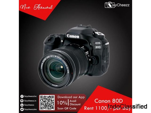 Camera for rent in Bangalore | Saycheezz