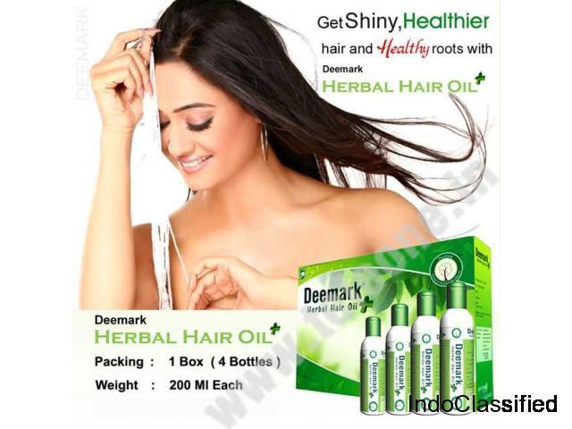 Buy Deemark Herbal Hair oil at the Best Price | Teleone.in