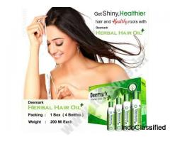 Buy Deemark Herbal Hair oil at the Best Price | Teleone.in