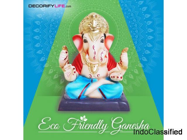Buy Clay Ganesha for ganesh Chaturthi