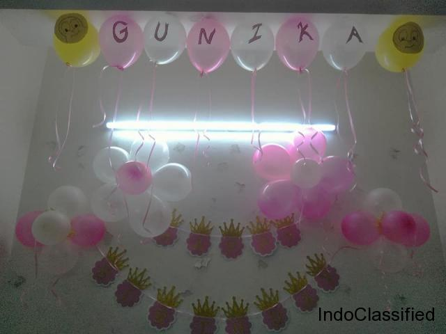 Who is the Best Balloons Decorator ideas for Birthday Party in Delhi?