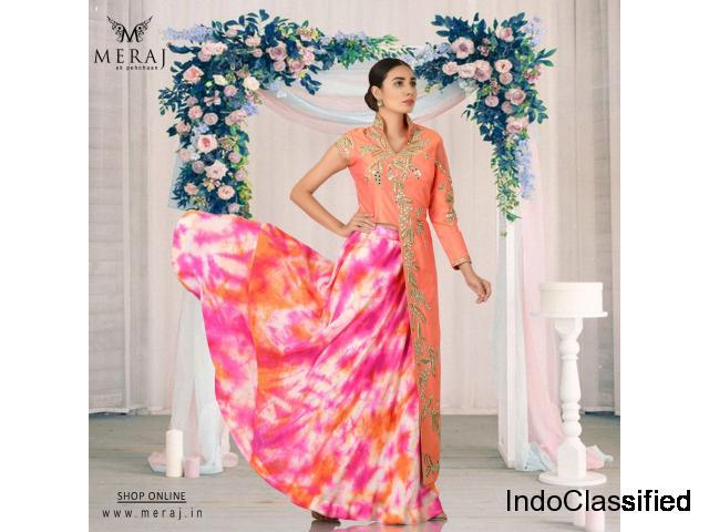 Buy Designer Indo Western Dresses Online for Women