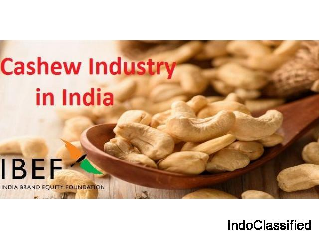 Cashew Export Promotion Council of India | Ibef