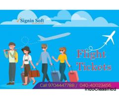 Flight Ticket Booking | Signin Soft