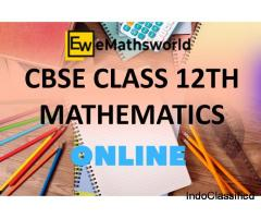 Looking for Class 12 Online Maths Coaching in India