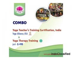 Paramanand Yoga-Combo Yoga Teacher's Training Certification at $490