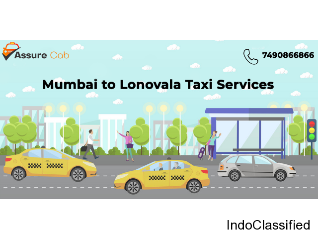 Best Cab & Taxi Service from  Mumbai to Lonavala