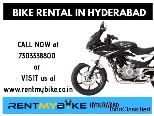 Bike rental service Hyderabad - Rent My bike