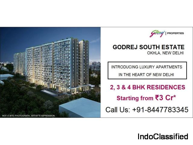 Godrej South Estate - Luxurious Residences Coming Soon in Okhla Delhi