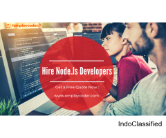 Want to Hire Node.Js Developers for your Project? Contact Us