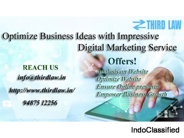 Third Law - Digital-marketing|SEO|SMO|Digital marketing services in Coimbatore