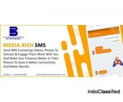 Media rich SMS Service