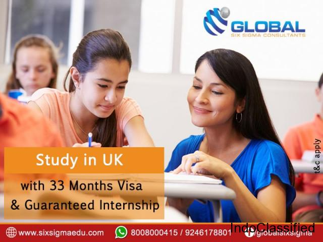 5 GREAT REASONS TO STUDY MASTERS IN UK FOR INDIAN STUDENTS | Global Six Sigma