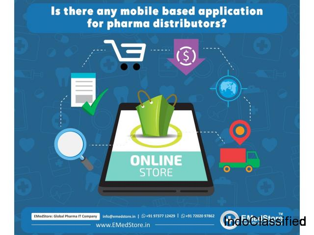 Is there any mobile based application for pharma distributors