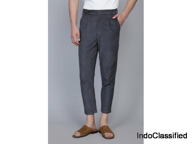 Ankle Length Trousers By Qarot Men