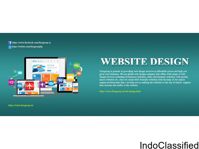 WEB DESIGNING AND DEVELOPMENT SERVICES IN BANGALORE