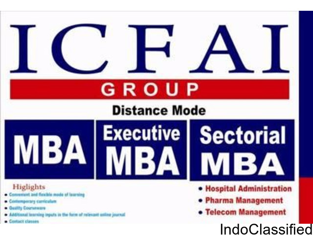 ICFAI University Distance MBA
