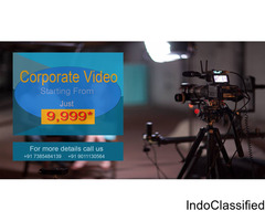 Corporate Video for business Rs 9,999*